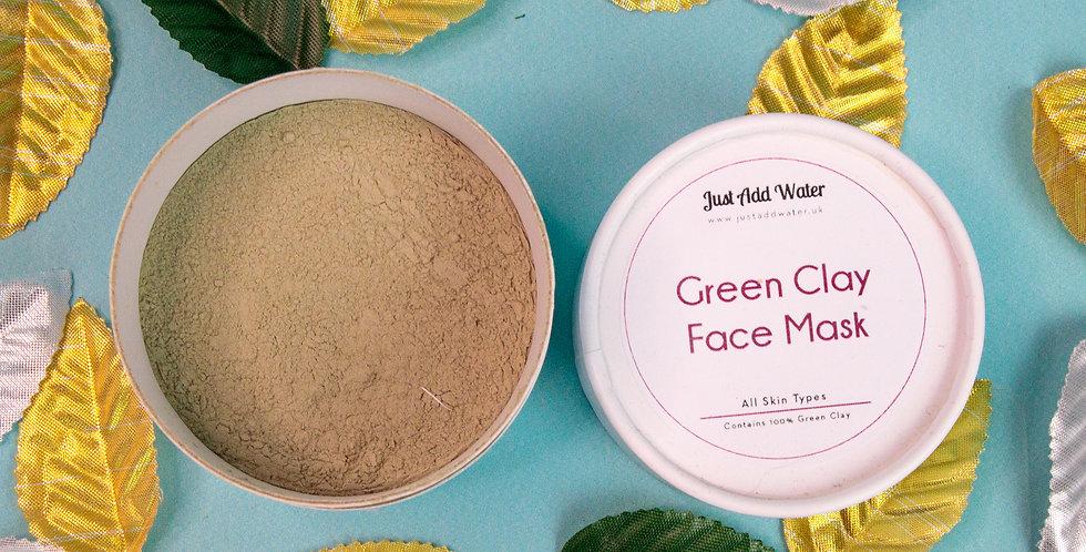 Green Clay Face Mask Powder