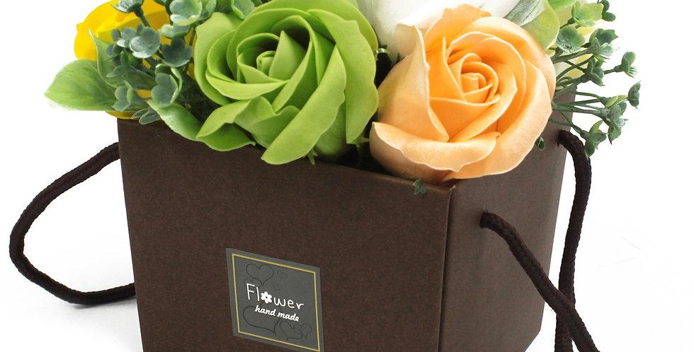 Spring Flowers Soap Bouquet
