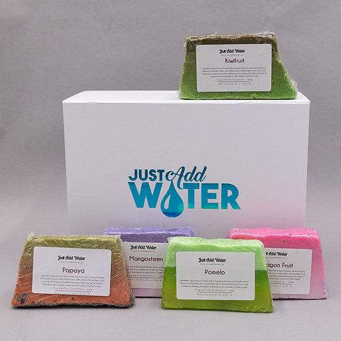 Tropical Fruit Soap Set