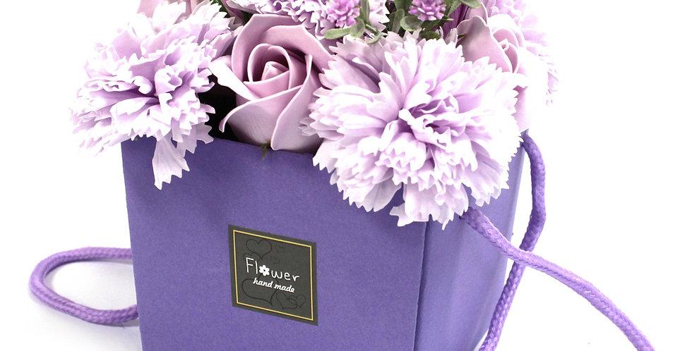 Lavender Rose & Carnation Bouquet