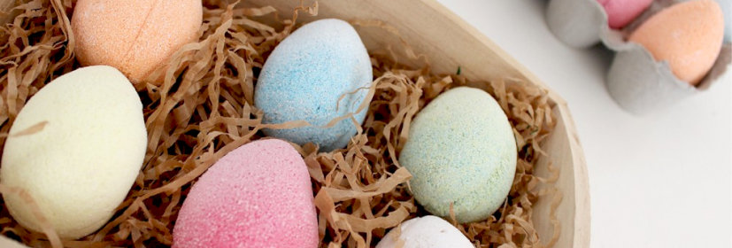 Easter Bath Eggs