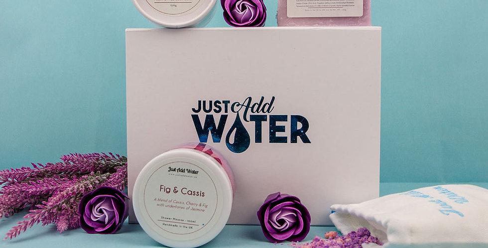 Fig & Cassis Bath Box
