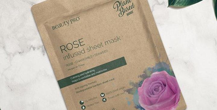 Rose Face Mask Sheet