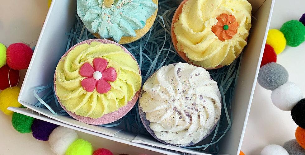 Birthday Cupcake Gift Box