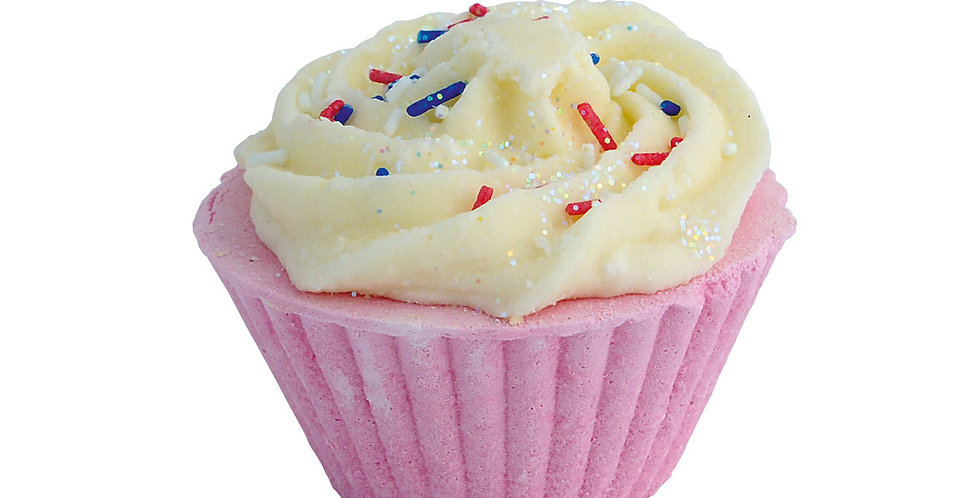 Cherry Bath Cupcakes