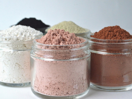 #MaskMonday: Clay Masks - Different colours for different needs