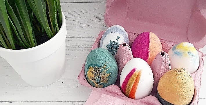 Luxury Fruity Easter Bath Eggs