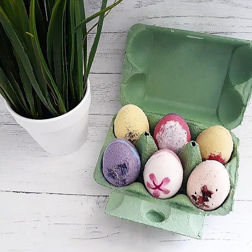 Luxury Floral Easter Bath Eggs