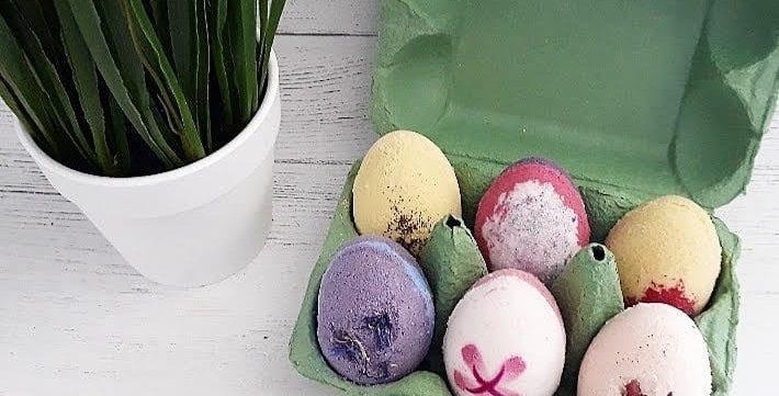 Luxury Floral Easter Bath Eggs