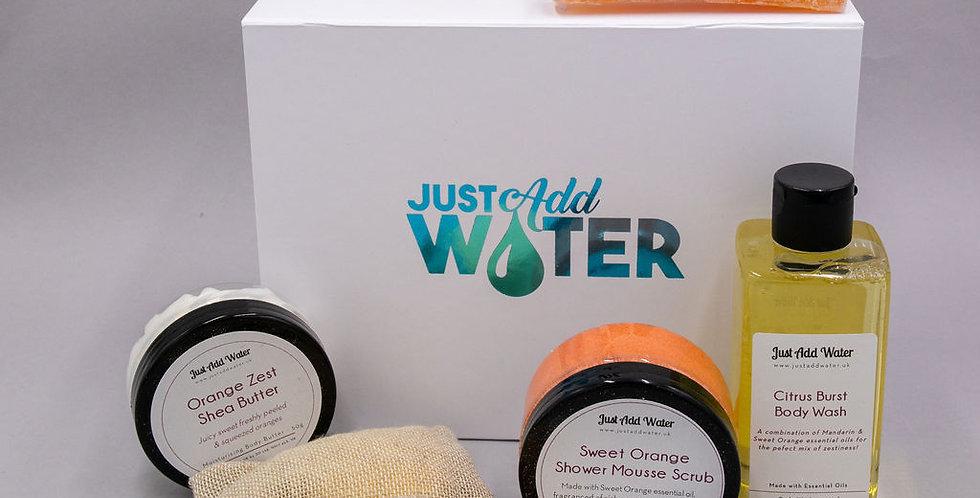 Zesty Orange Shower Box