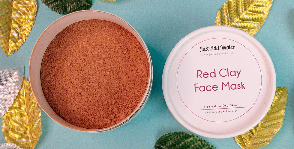 Red Clay Face Mask Powder