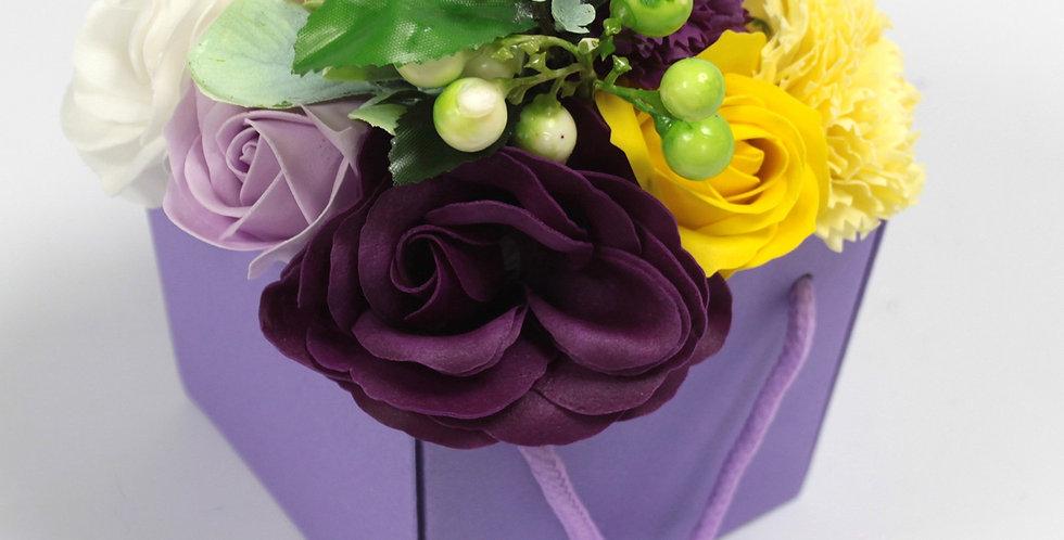 Purple Flower Garden Bouquet