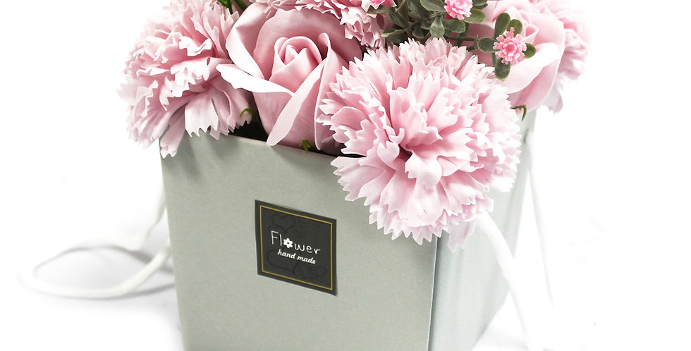 Pink Rose & Carnation Bouquet