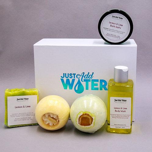 Lemon & Lime Bath Gift