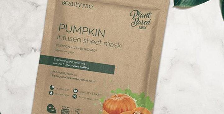 Pumpkin Face Mask Sheet