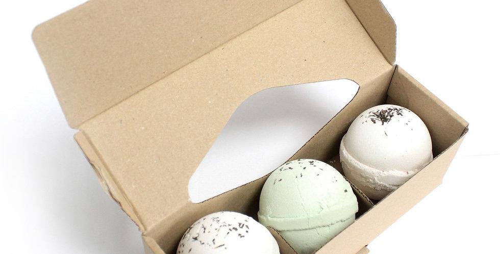 Set of 3 Bath Balls