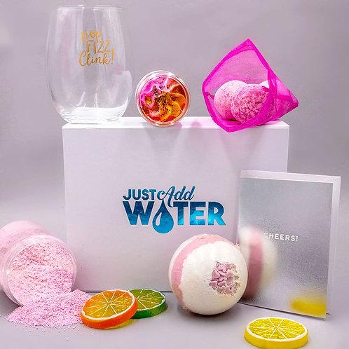Pink Fizz Bath Gift