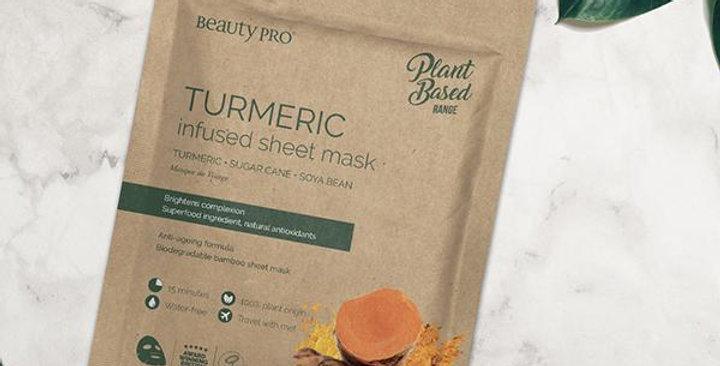 Turmeric Face Mask Sheet