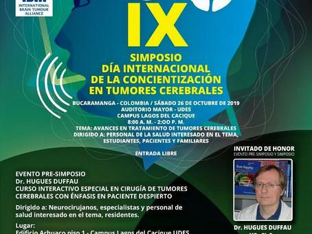 X SIMPOSIO DIA INTERNACIONAL DE LA CONCIENTIZACIÓN EN TUMORES CEREBRALES - DR. HUGUES DUFFAU.