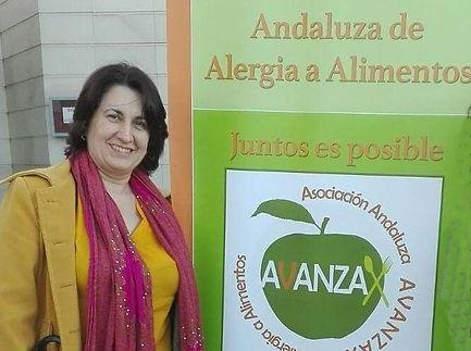Ana Pacheco AVANZAX asociacion avanzax Asociación Andaluza de Alergia a Alimentos