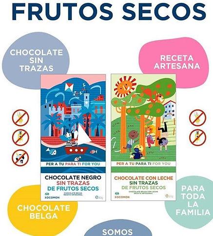 xocolat sin alérgenos