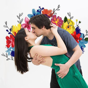 Flores em você