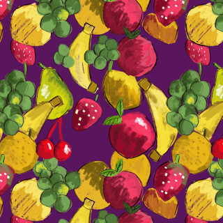 Estamparia - Frutas