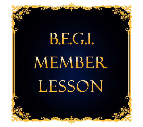 One Lesson for BEGI Member