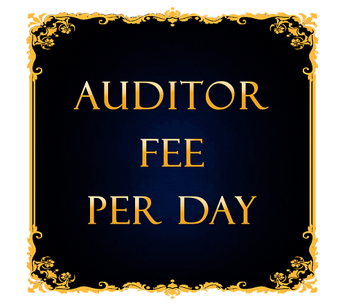 One Day Auditor Fee