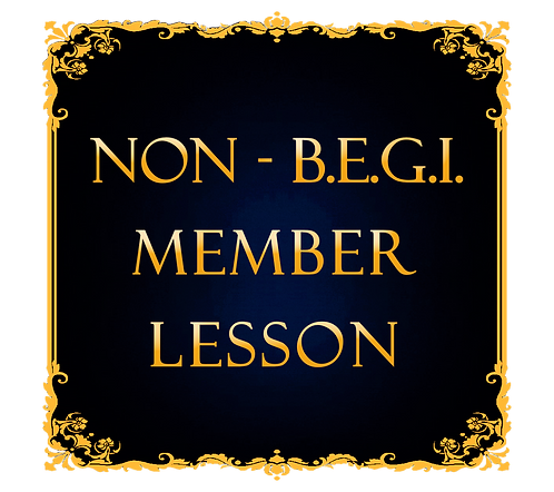 One Lesson For Non BEGI Member
