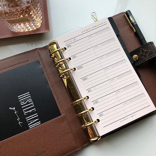 Meal Plan/Shopping List