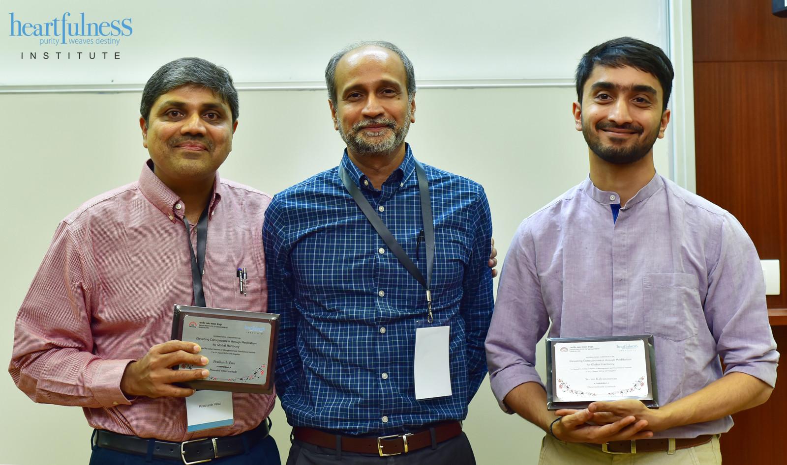 Prashanth Vasu, Tushar Pradhan and Sriram Kalyanaraman