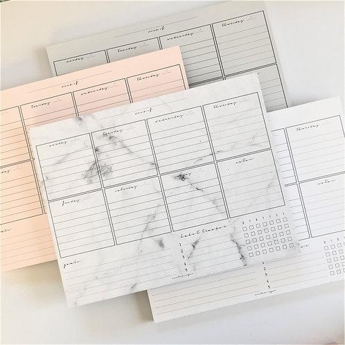 Weekly Deskpad-Classic