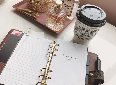 How I use my Louis Vuitton MM Agenda as my financial planner