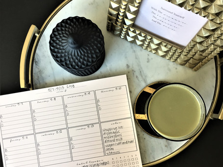 I used our Weekly Deskpad-Undated-Classic as a meal planner to keep on my desk and loved it!!