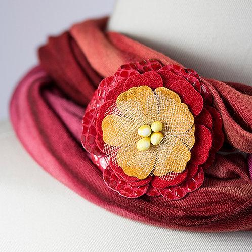 Med. Red Flower