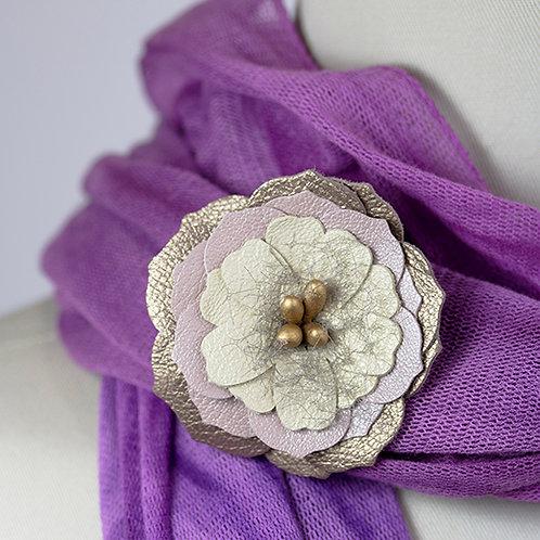 Med. Beige Flower