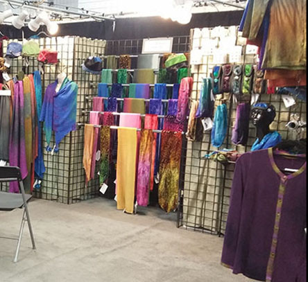 My Booth Some Years Ago