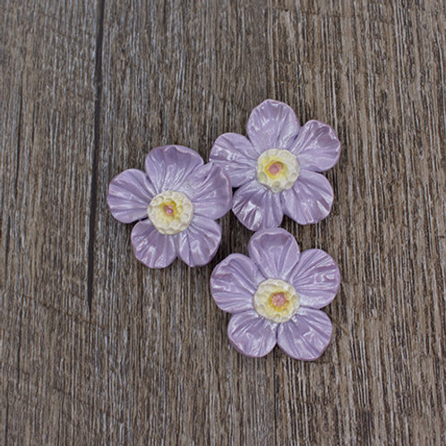 Lavender Spring Blossom Buttons