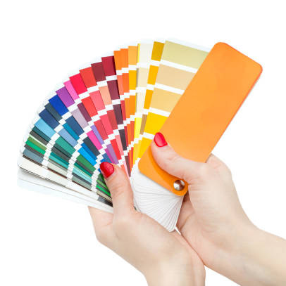 Swatch book of Colors