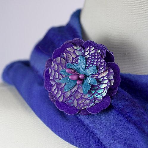 Med. Purple Flower