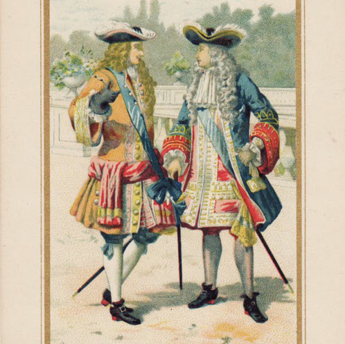 Men's clothing from the time of Louis XIV