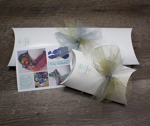 Gift Box and Personalized Card