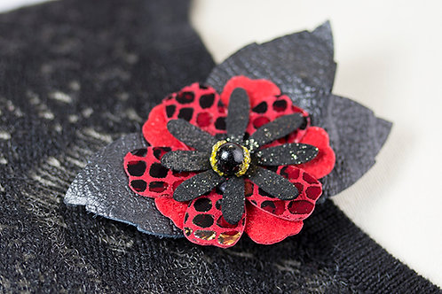 Little Red/Black Flower
