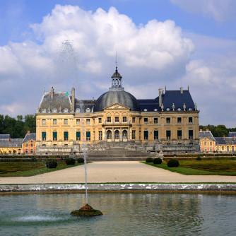 The chateau Veux le Vicomte, Maincy France
