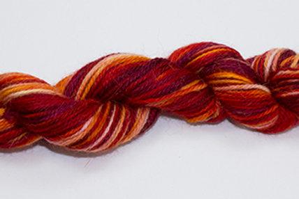Red Plum 100% Super Fine Alpaca Yarn