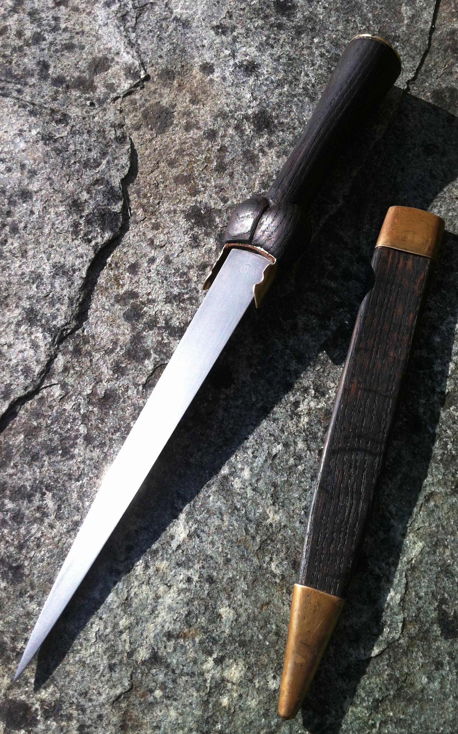 dague ouverte