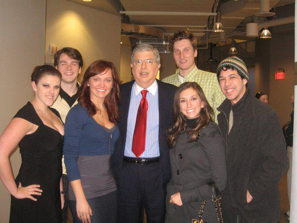Singing with Marvin Hamlisch