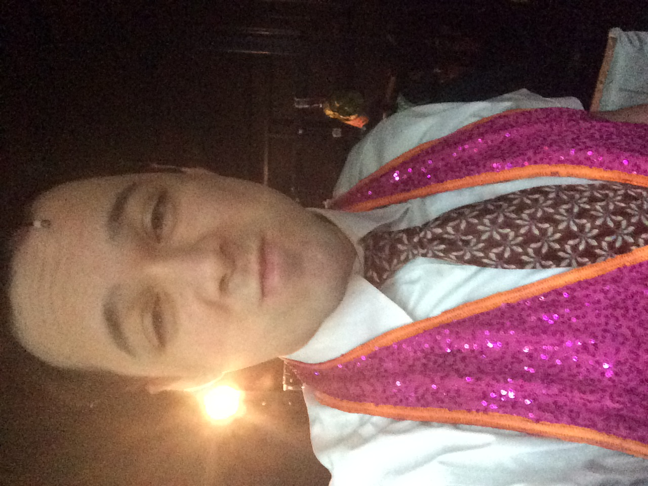 Selfie in the Magic Vest