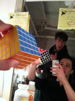Moving on to a 5 x 5